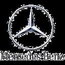 Das Logo von Mercedes- Benz