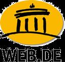 das Logo von Web.de